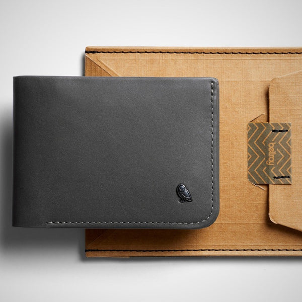 Hide and Seek Wallet - Charcoal RFID