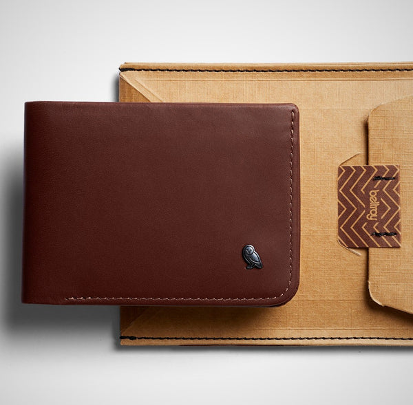 Hide and Seek Wallet - Cocoa RFID