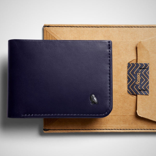 Hide and Seek Wallet - Navy RFID