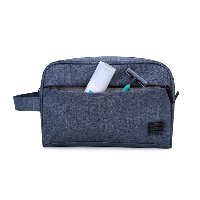 Belmont Toiletry Bag - Heather Blue