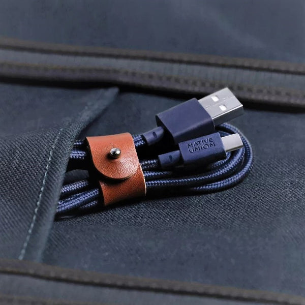 Belt Cable Android USB-C - Marine