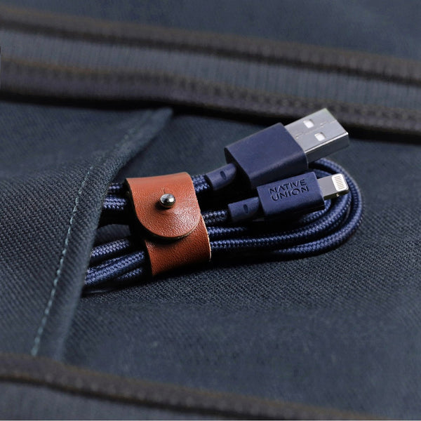 Belt Cable - Marine Apple Lightning