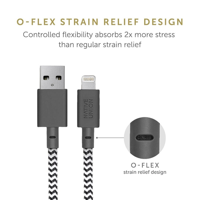 Belt Cable Android USB-A to USB-C - Marine