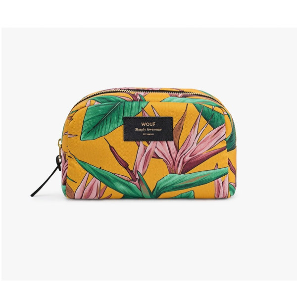 Birds of Paradise Large Beauty Bag