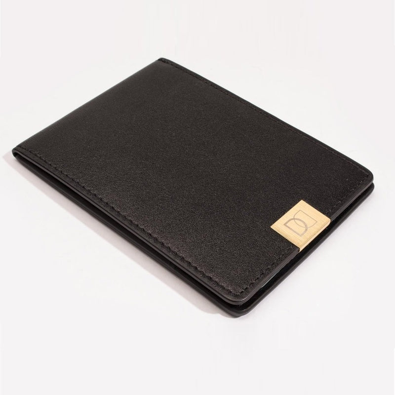 DUN Slim Wallet - Black Gold