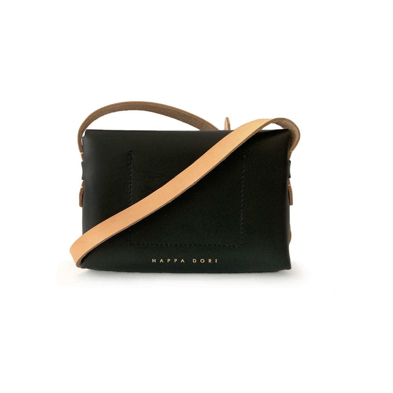 Envelope Sling Bag - Black