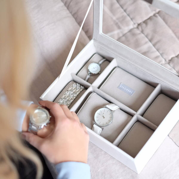 Watch Box 8-piece - White