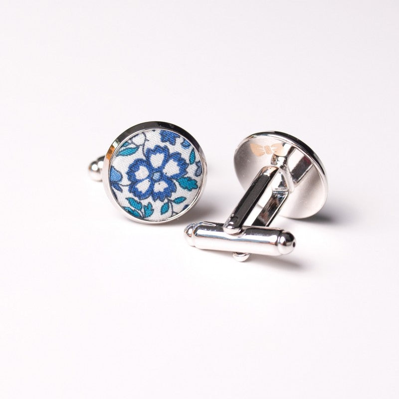 Blue Liberty Cufflinks