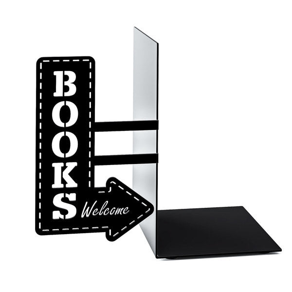 Metallic Bookend - Bookshop