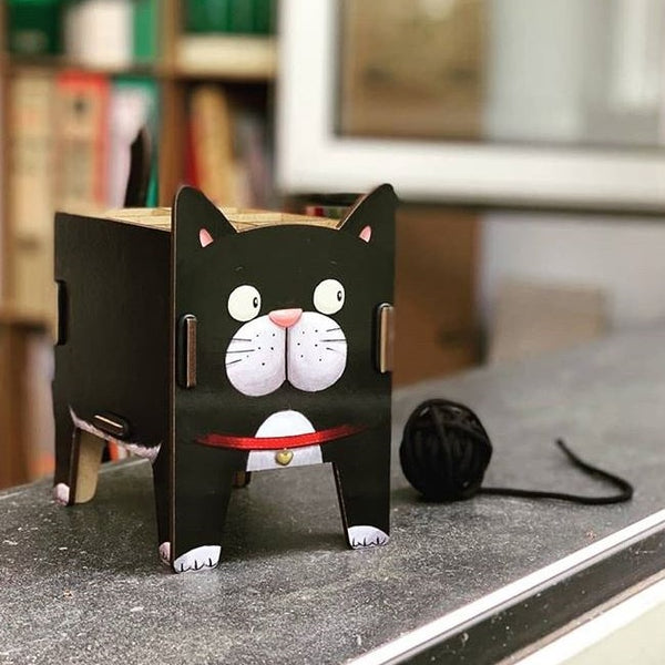 Pen Holder - Cat