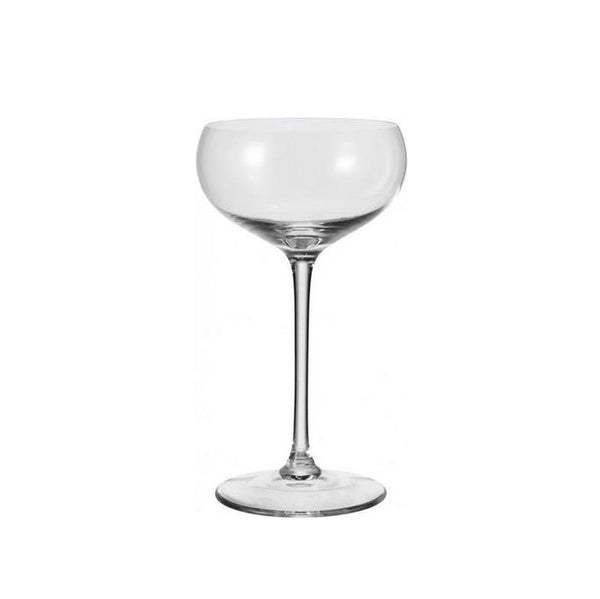 Cheers Champagne Bowl Glasses, Set of 6
