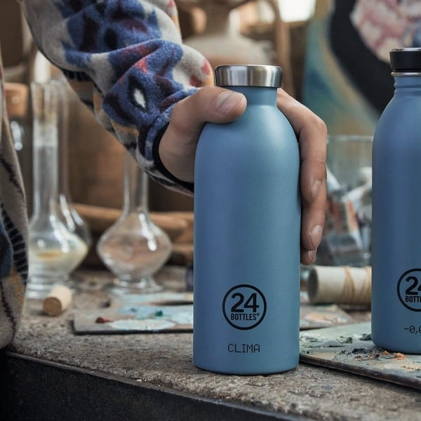 Clima Insulated Bottle 500ml - Powder Blue