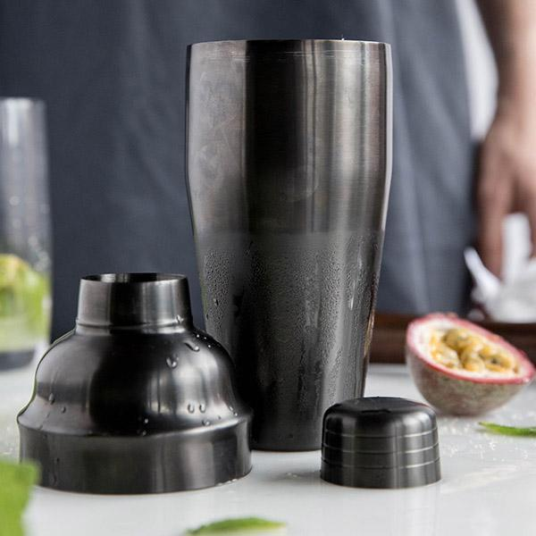 Stainless Steel Cocktail Shaker - Titanium
