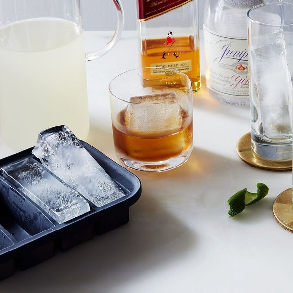 Peak Collins Long Ice Tray - Charcoal