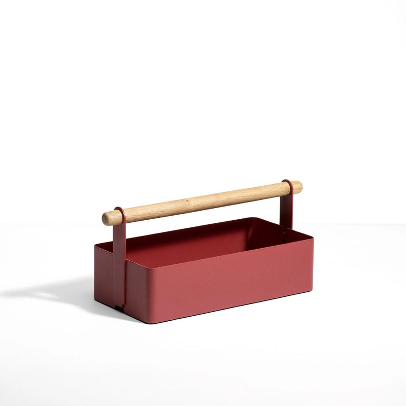 Cora Storage Caddy - Brick Red