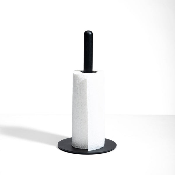 Cora Paper Towel Holder - Space Black