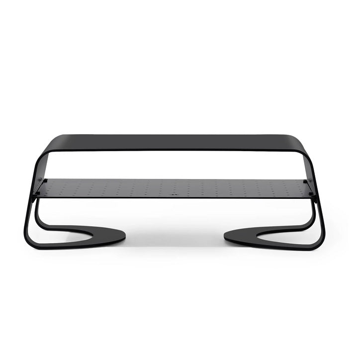 Curve Riser for iMac and Displays - Black