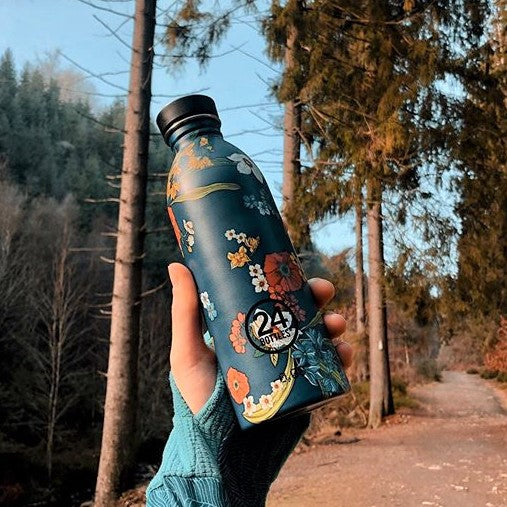 Urban Bottle 500ml - Denim Bouquet