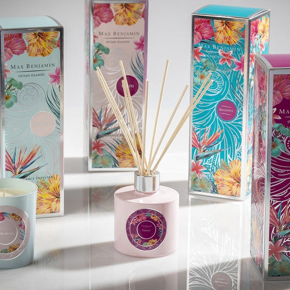 Tahiti Fragrance Diffuser, Ocean Islands Collection