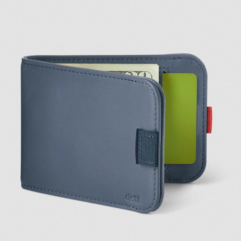 Wally Bifold Wallet - Navy