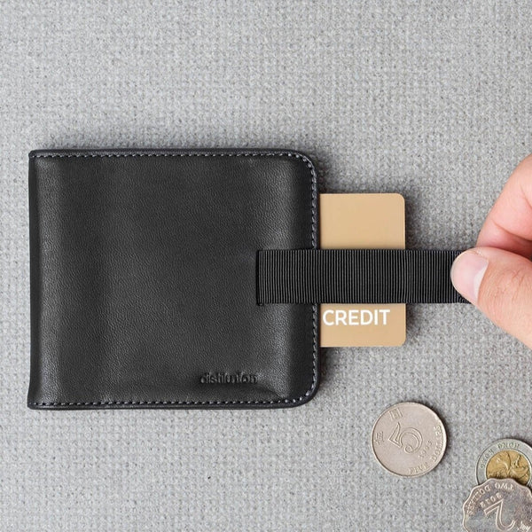 Wally Slim Wallet - Black