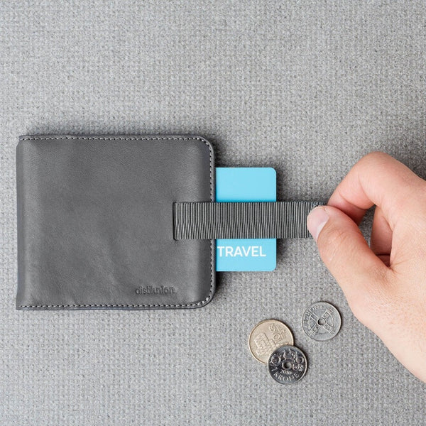 Wally Slim Wallet - Slate