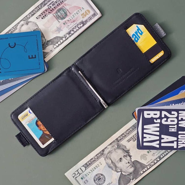Wally Bifold Wallet - Black