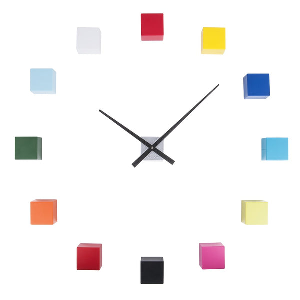 DIY Cubic Wall Clock - Multi