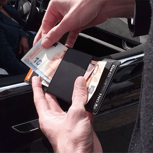 DUN Fold Wallet - Black Edition RFID