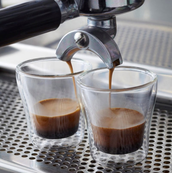 Espresso Double Wall Cups, Set of 2