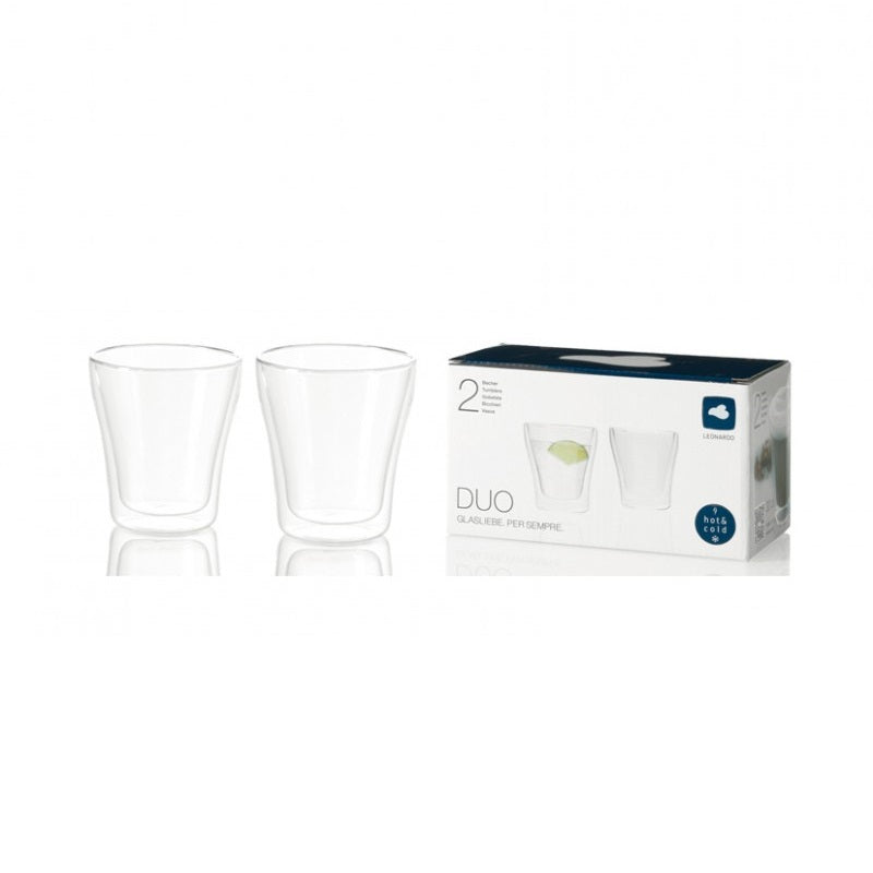 Duo Double Wall Cups, Set of 2