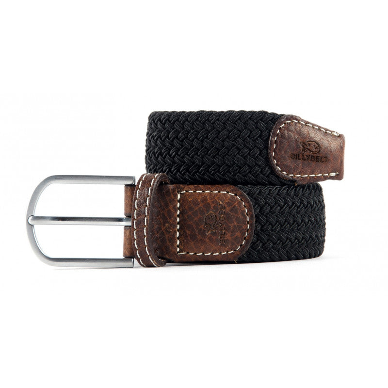 Braided Belt Medium - Black Licorice