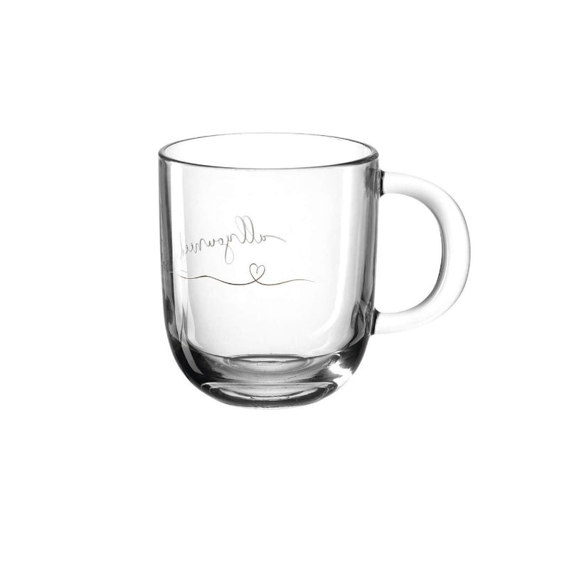 Emozione Glass Mug - All You Need