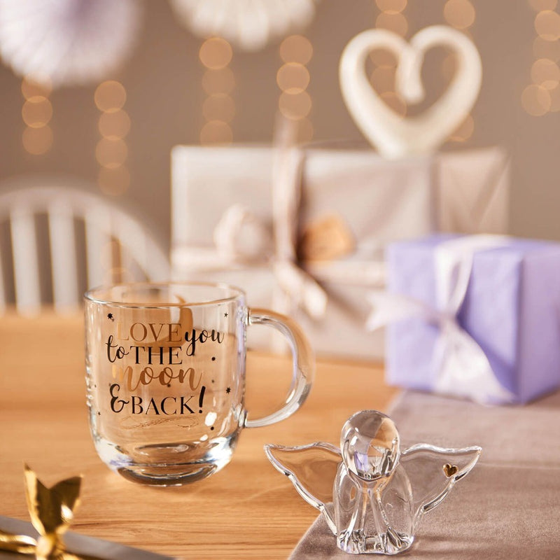Emozione Glass Mug - Love
