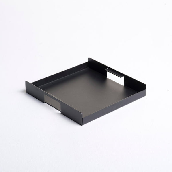 Flint Serving Tray, Small - Black
