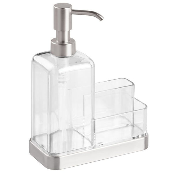 Forma Soap and Sponge Caddy - Clear