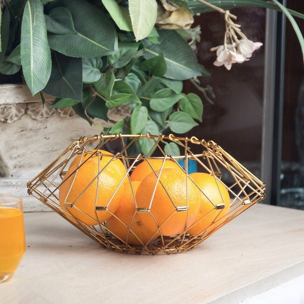Multi-form Fruit Basket - Brass
