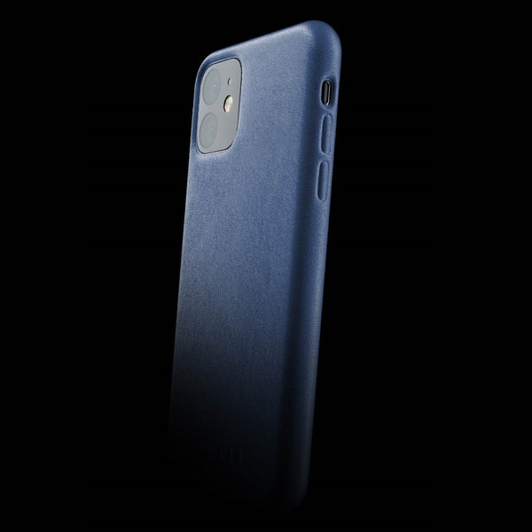 Full Leather Case for iPhone 11 - Monaco Blue