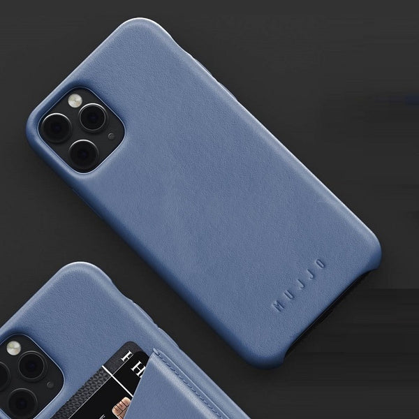 Full Leather Case for iPhone 11 Pro - Monaco Blue