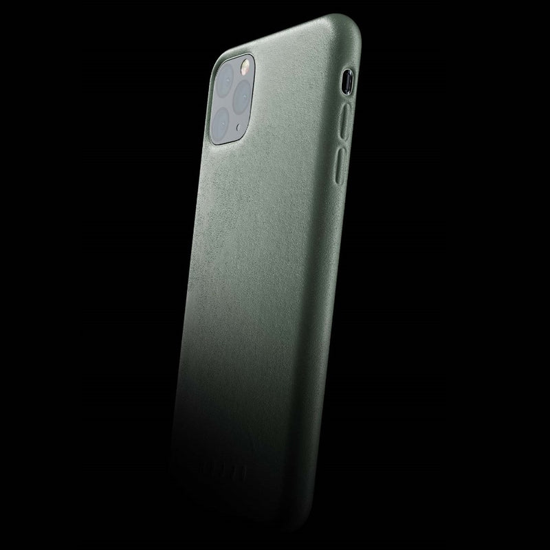 Full Leather Case for iPhone 11 Pro Max - Slate Green