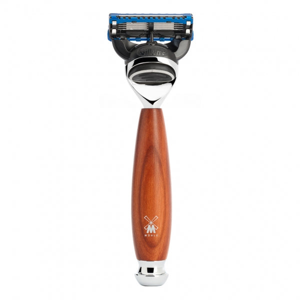 Vivo Fusion Razor - Plum Wood