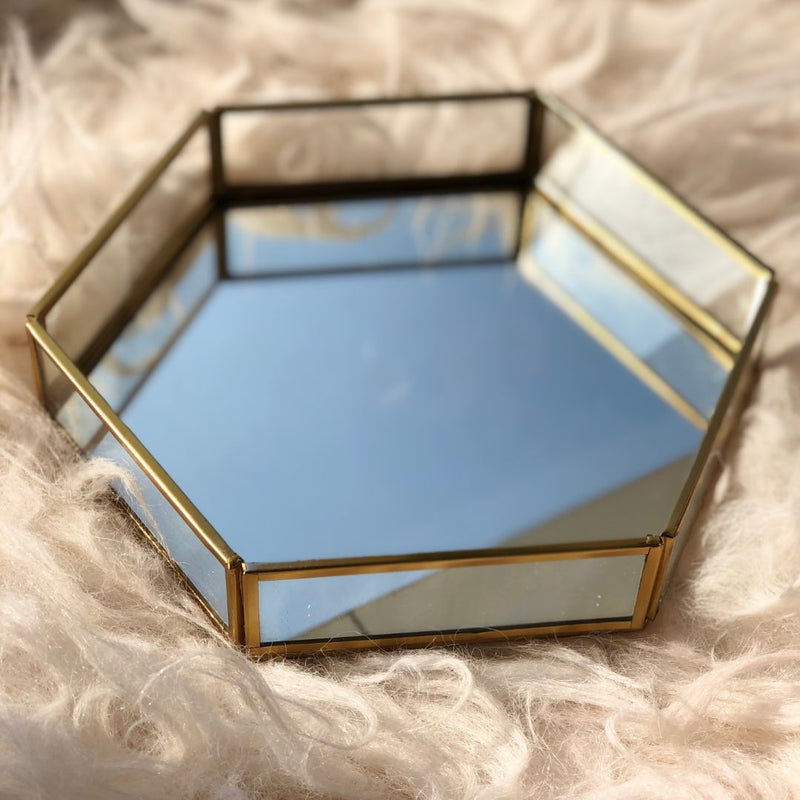 Milan Storage Tray - Hexagon