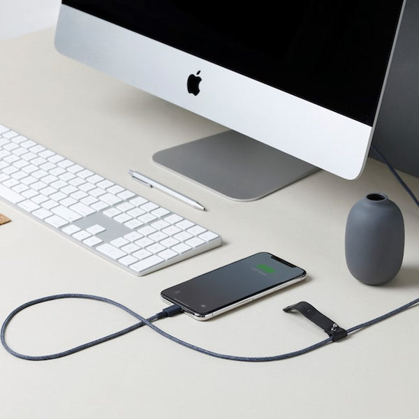 Belt Cable Apple Lightning - Indigo