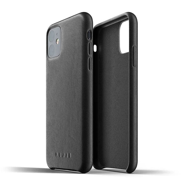 Full Leather Case for iPhone 11 - Black