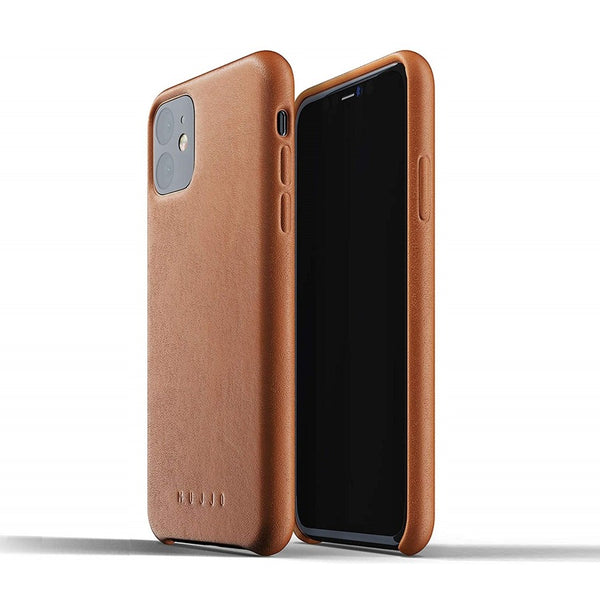 Full Leather Case for iPhone 11 - Tan