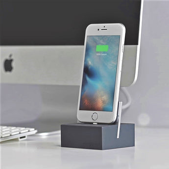 iPhone Dock + Cable - Slate/Space Grey