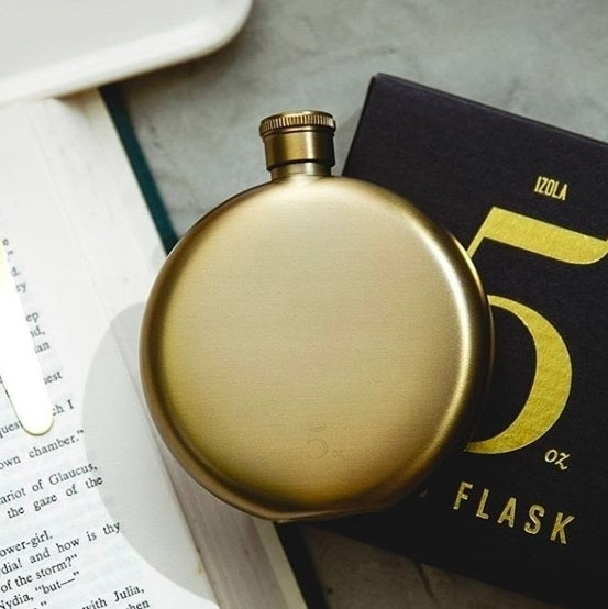 Gold Hip Flask - 5oz