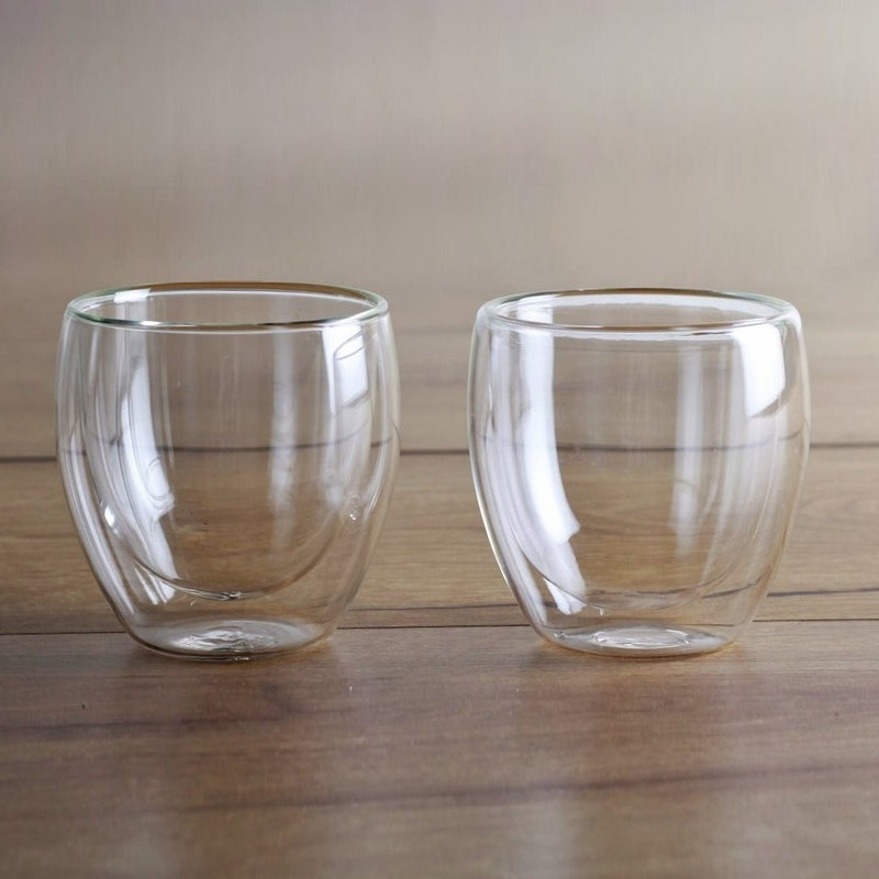 Java Double Wall Cups, Set of 2 - Small