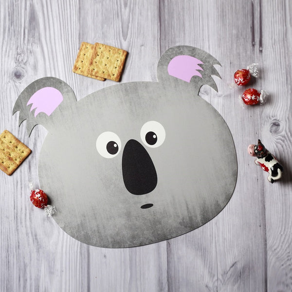 Jungle Placemats, Set of 2 - Koala Bear