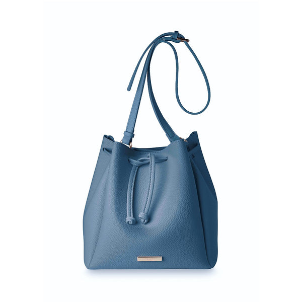 Chloe Bucket Bag -  Blue